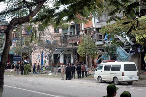 nổ mìn, Công an tỉnh, giang hồ, Thái Nguyên