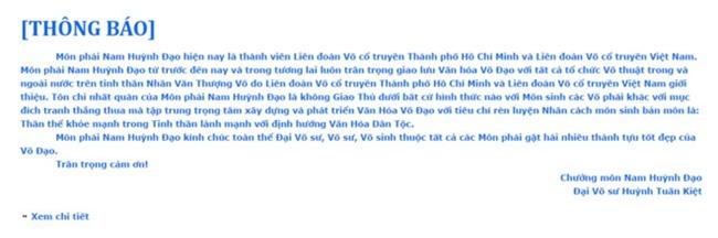 Flores de nghi chuong mon Nam Huynh Dao go clip truyen dien hinh anh 2
