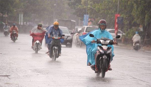 Dự báo thời tiết, bản tin thời tiết, tin thời tiết, thời tiết Hà Nội, mưa to