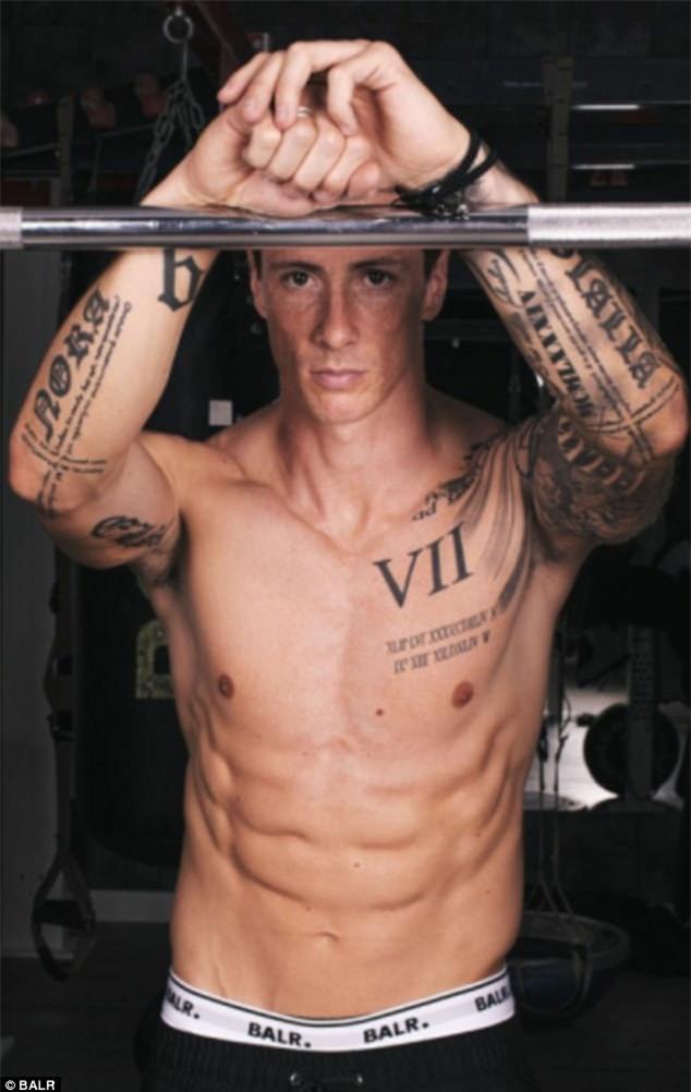 Cận cảnh vẻ đẹp trai nam tính của Fernando Torres khi hóa thân làm người mẫu - Ảnh 3.