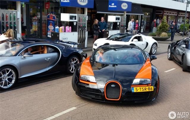 Dàn Bugatti siêu khủng gây náo loạn tại con phố Hà Lan - Ảnh 5.