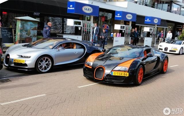 Dàn Bugatti siêu khủng gây náo loạn tại con phố Hà Lan - Ảnh 8.