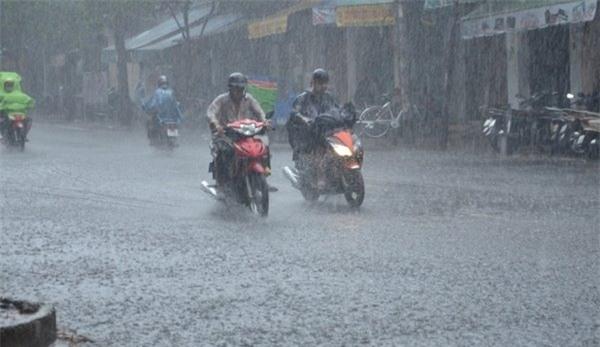 dự báo thời tiết, bản tin thời tiết, tin thời tiết, thời tiết hôm nay, mưa to