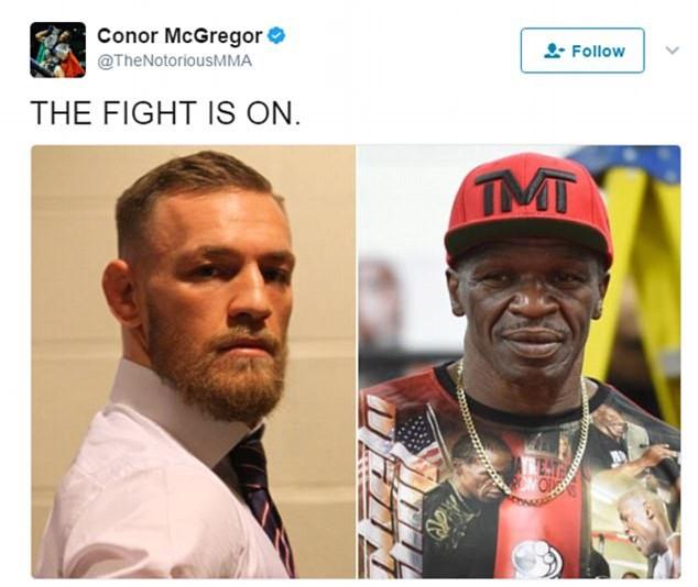 Tran dau kinh dien Mayweather vs McGregor an dinh ngay to chuc hinh anh 1