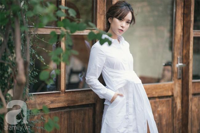 Váy sơmi đơn giản là thế nhưng cũng có những cách điệu khiến nàng công sở chẳng thể làm ngơ - Ảnh 12.