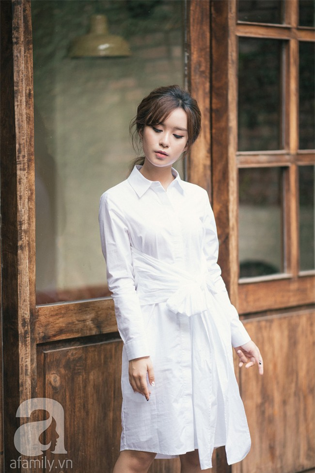 Váy sơmi đơn giản là thế nhưng cũng có những cách điệu khiến nàng công sở chẳng thể làm ngơ - Ảnh 13.