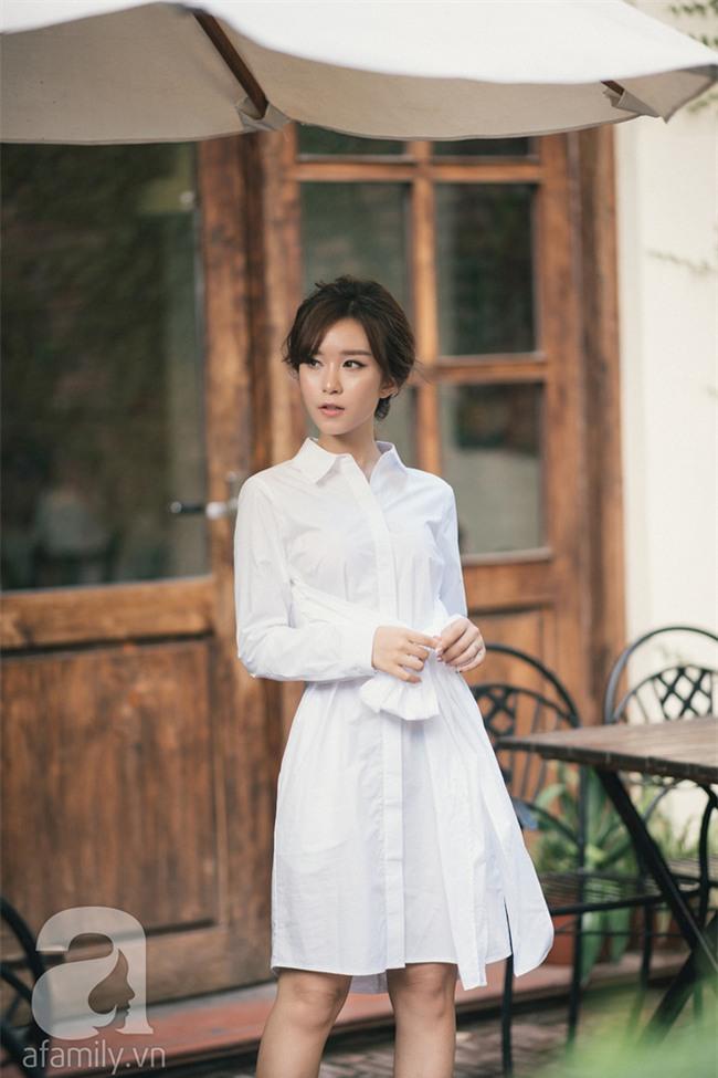 Váy sơmi đơn giản là thế nhưng cũng có những cách điệu khiến nàng công sở chẳng thể làm ngơ - Ảnh 14.