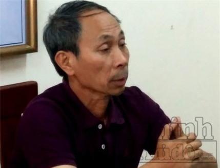 Trần Văn Hạnh tại cơ quan điều tra. Ảnh: ANTĐ.