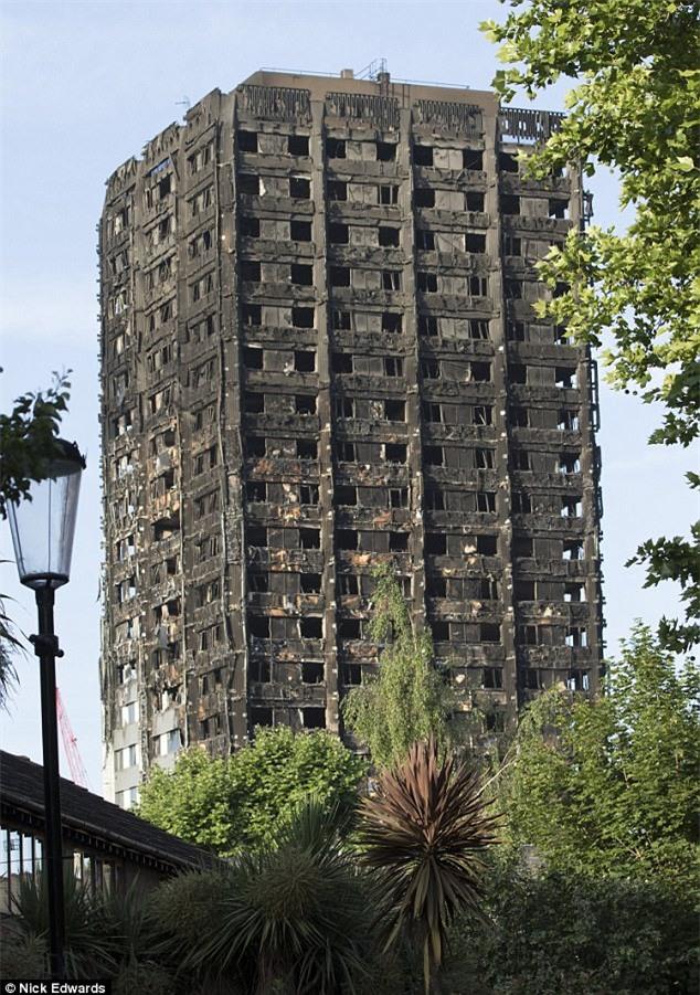 Hình ảnh bé gái 4 tuổi được người đi đường bắt trúng sau khi được mẹ ném từ tòa tháp đang cháy ở London - Ảnh 3.