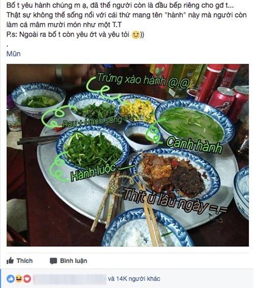 """ngay cua cha: khoe bua com toan hanh bo nau, co gai khien """"hoi nguoi ghet an hanh"""" choang vang - 1"""