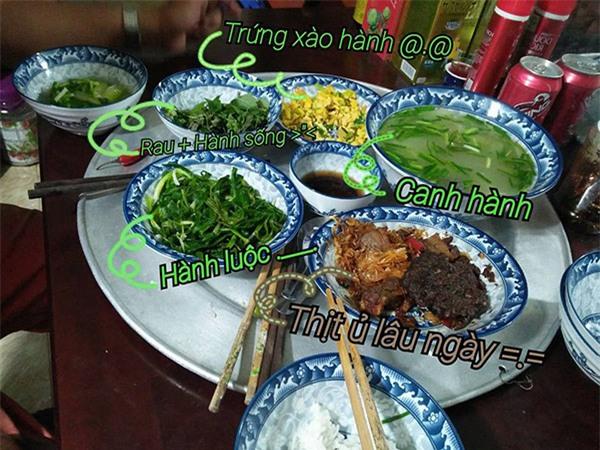"""ngay cua cha: khoe bua com toan hanh bo nau, co gai khien """"hoi nguoi ghet an hanh"""" choang vang - 2"""