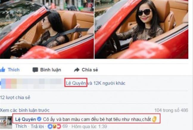 Tranh dung mat Ho Ngoc Ha nhung Le Quyen lai than thiet voi vo dai gia kim cuong?