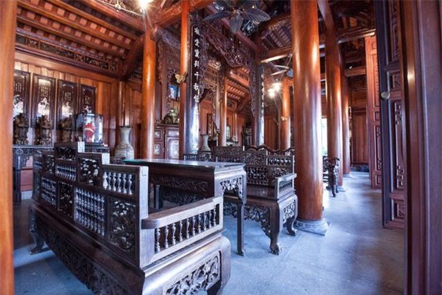 nhà gỗ lim, gỗ quý, gỗ lim, nhà cổ