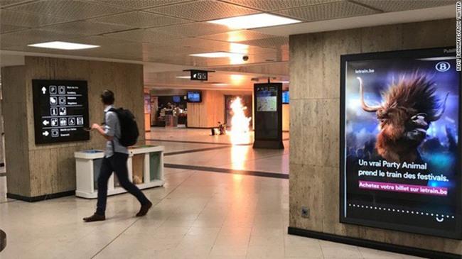 Tấn công khủng bố tại Bỉ, nghi phạm bị tiêu diệt - Ảnh 2.