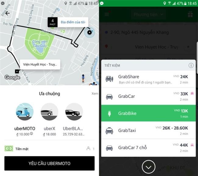 Grab tung 'chieu' loi keo lai xe Uber, ky hop dong ngay tren yen xe hinh anh 3