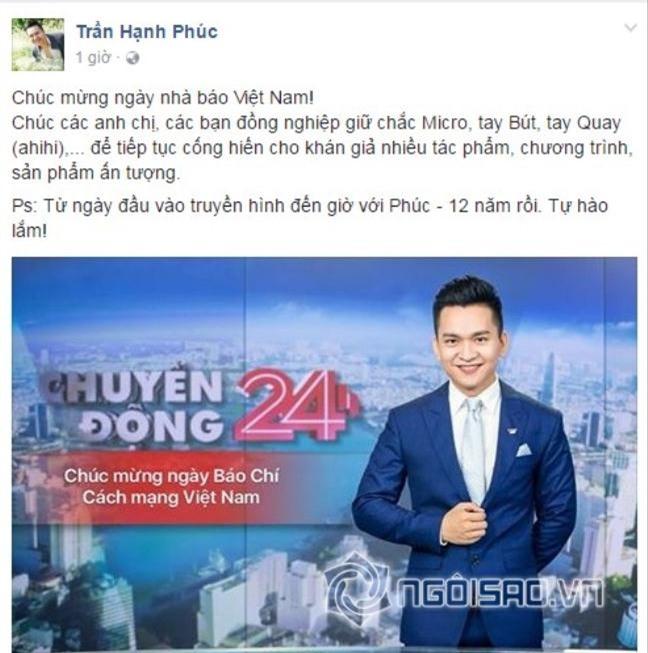 Sao Viet gui loi chuc mung ngay Bao chi Cach mang Viet Nam