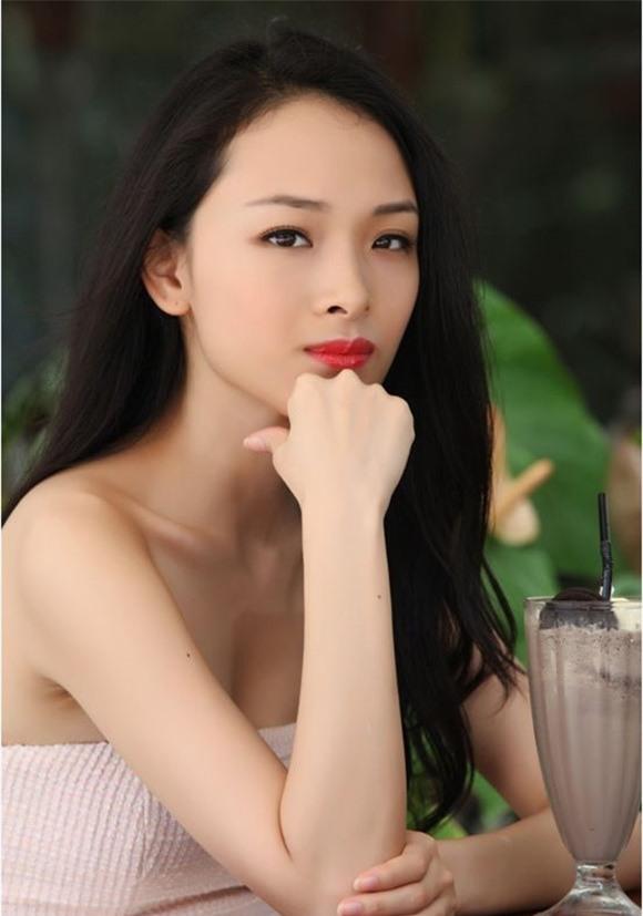 Hoa hậu Trương Hồ Phương Nga có gương mặt trẻ trung với những đường nét gần giống ngôi sao điện ảnh Hoa ngữ Châu Tấn.