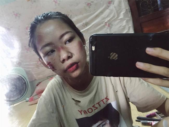 Sự thật về cô gái xinh xắn bị đánh ghen bầm dập khiến dân mạng xôn xao - Ảnh 2.