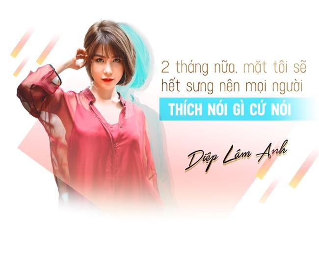 Diep Lam Anh thua nhan mat sung vi sang Han Quoc tiem mo, collagen hinh anh 3