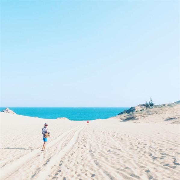 Ngẩn ngơ trước 5 đồi cát đẹp mê hồn ở miền Trung, nhìn thôi đã yêu luôn rồi - Ảnh 54.