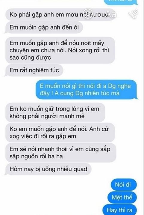 Lộ tin nhắn nghi của người thứ ba gửi Việt Anh đòi gặp mặt nói chuyện - Ảnh 3.