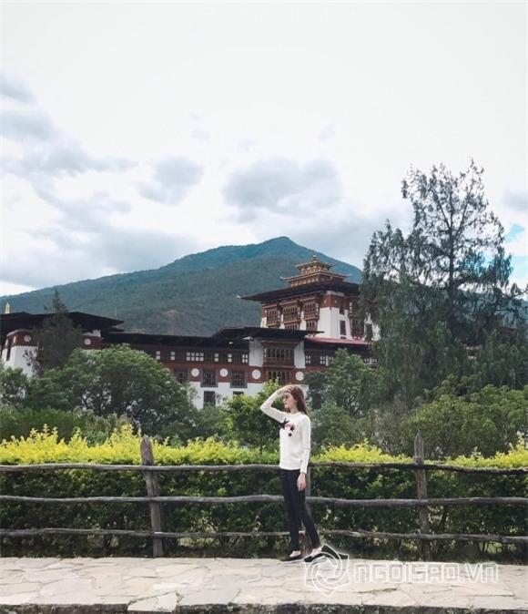 sao việt, đặng thu thảo, hoa hậu đặng thu thảo, đặng thu thảo du lịch, đặng thu thảo du lịch bhutan