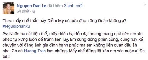 Bị dân mạng nghi ngờ là người thứ ba, Đan Lê khẳng định không thả thính Việt Anh - Ảnh 2.