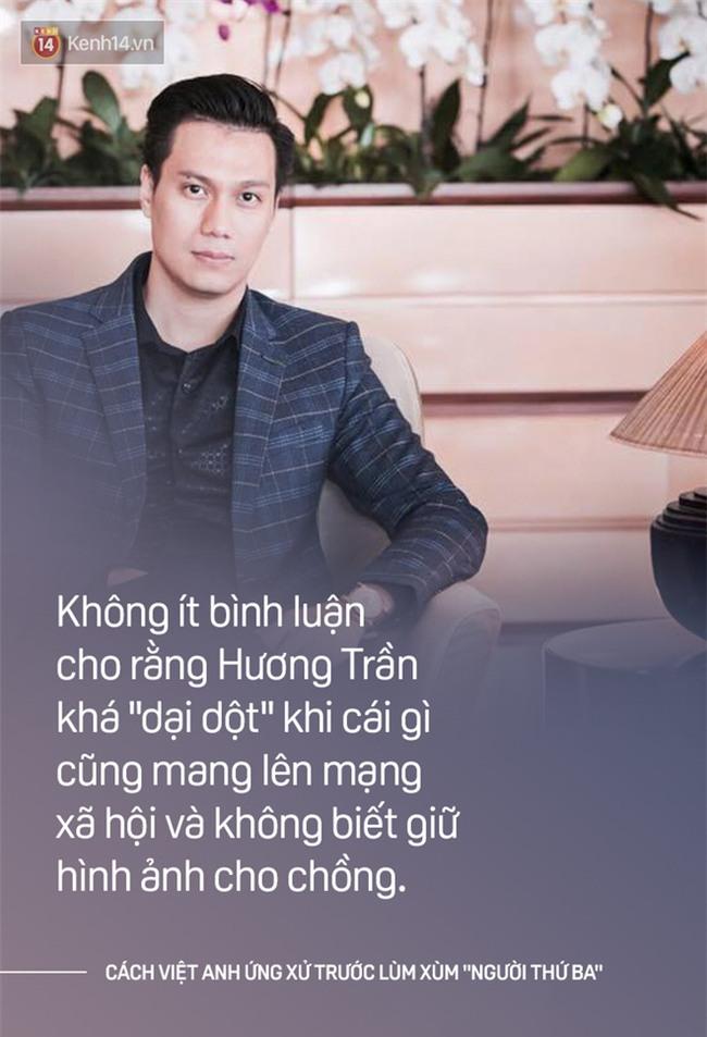 Cách một ông chồng như Việt Anh khi ứng xử: Bênh vợ chẳng xấu mặt ai! - Ảnh 1.