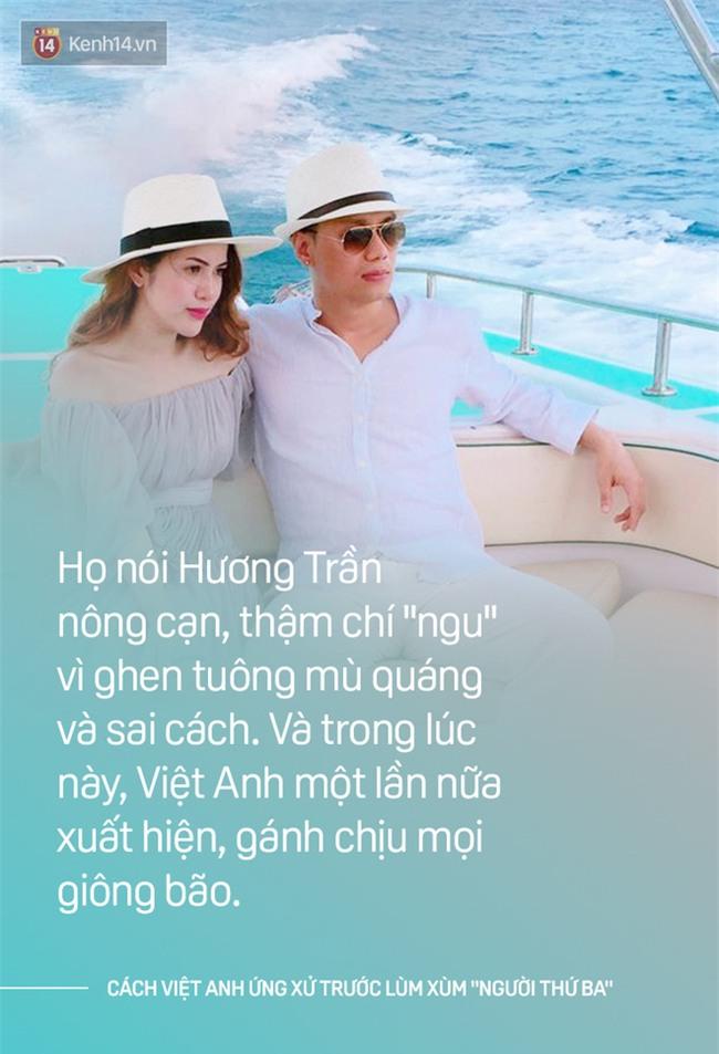 Cách một ông chồng như Việt Anh khi ứng xử: Bênh vợ chẳng xấu mặt ai! - Ảnh 2.