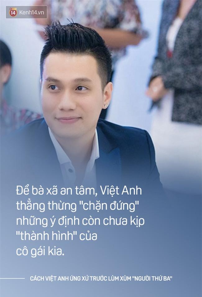 Cách một ông chồng như Việt Anh khi ứng xử: Bênh vợ chẳng xấu mặt ai! - Ảnh 5.