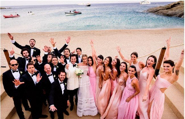 Bữa tiệc kiều nữ - đại gia ai cũng xinh như hoa hậu và sang chảnh tuyệt đối ở đám cưới thực mà như mơ - Ảnh 13.