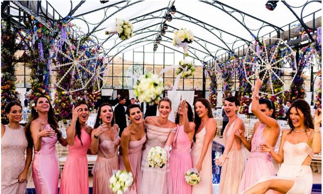 Bữa tiệc kiều nữ - đại gia ai cũng xinh như hoa hậu và sang chảnh tuyệt đối ở đám cưới thực mà như mơ - Ảnh 15.