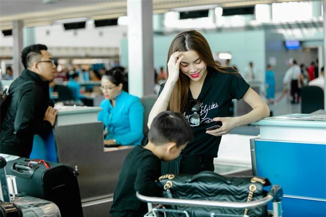 Hồ Ngọc Hà âu yếm Subeo, cùng cả gia đình đi lưu diễn tại Mỹ - Ảnh 7.