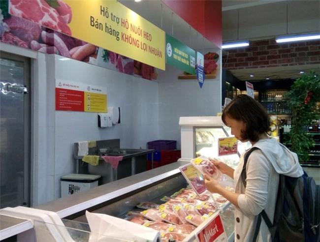 Giá thịt heo, gà, vịt...lại 'rủ nhau' giảm - 1