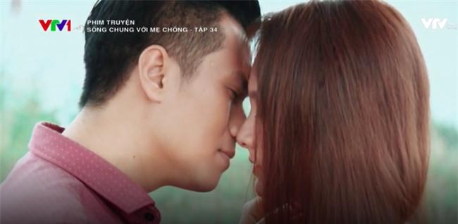 Sống chung với mẹ chồng kết thúc: Vân - Sơn hạnh phúc trao nụ hôn nồng cháy! - Ảnh 6.