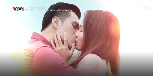 Sống chung với mẹ chồng kết thúc: Vân - Sơn hạnh phúc trao nụ hôn nồng cháy! - Ảnh 9.