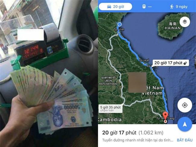Chuyến taxi đường dài lạ lùng lên tới hàng chục triệu đồng gây xôn xao - Ảnh 1.