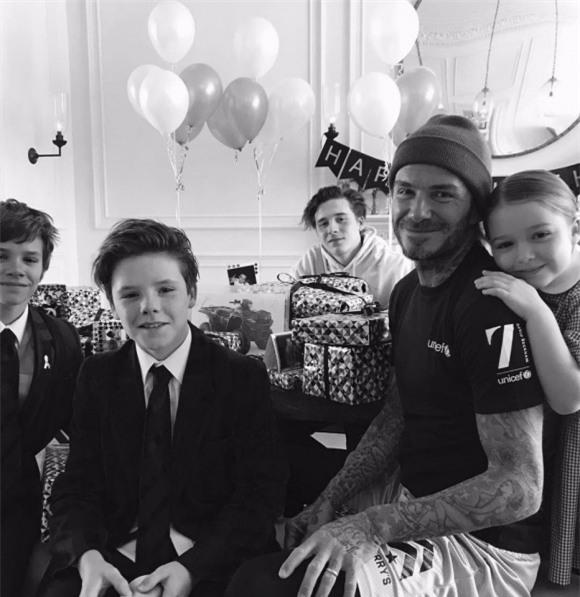 chuyện làng sao,sao Hollywood,David Beckham,Harper Beckham