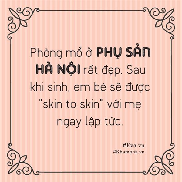 """kinh nghiem di de o bv phu san ha noi """"suong nhu tien"""", sinh xong duoc qua cua me 8x - 5"""