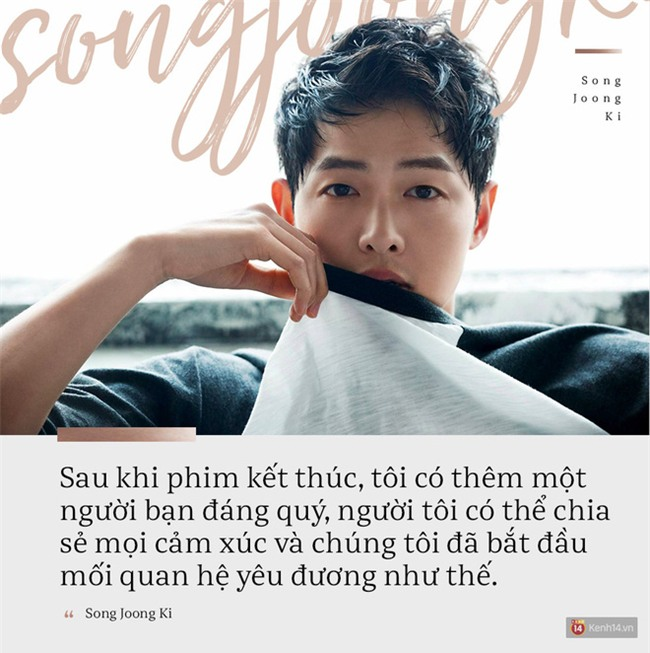 Song Joong Ki vừa gửi bức thư đến công chúng: Đầu năm 2017, chúng tôi đã hứa sẽ đi cùng nhau đến cuối cuộc đời này - Ảnh 1.