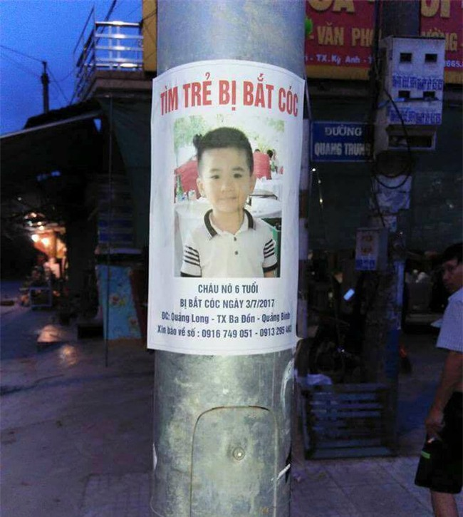 Cộng đồng truy tìm hình ảnh em bé khóc trên đường nghi là bé trai 6 tuổi mất tích ở Quảng Bình - Ảnh 3.
