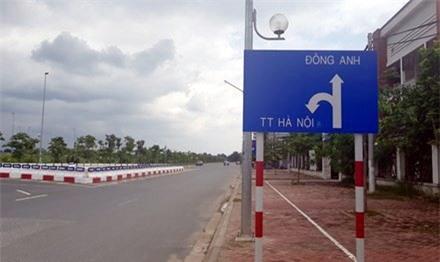 Đông Anh, ngoại thành Hà Nội, sốt đất