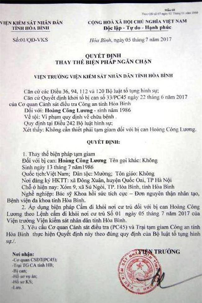Bác sĩ bệnh viện đa khoa Hòa Bình rơi nước mắt khi biết tin bác sĩ Lương được tại ngoại - Ảnh 2.