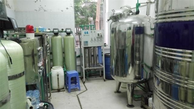 Hệ thống lọc nước chạy thận có độc tố cao gấp gần 300 lần