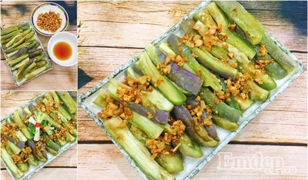 Chưa đến 10 phút cho món salad cà tím ngon tuyệt đỉnh