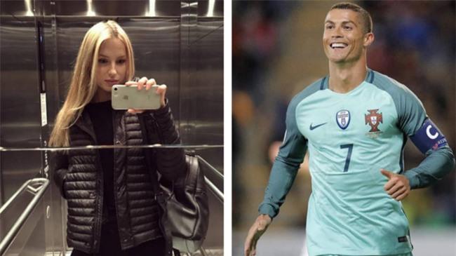 Co bo dep, Ronaldo van hen ho bi mat nguoi mau Nga hinh anh 1