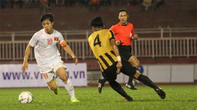 U22 Việt Nam vẫn nằm trong bảng đấu rất nặng, do chủ nhà Malaysia đã nghiên cứu quá kỹ nguyên tắc bốc thăm (ảnh: Trọng Vũ)