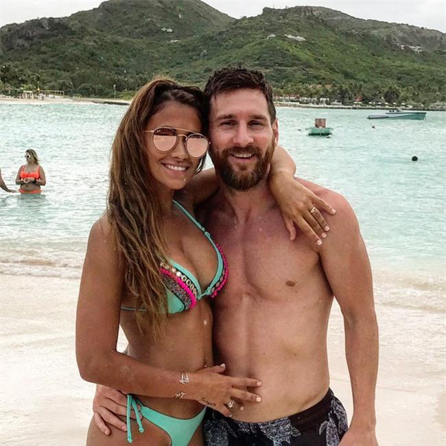 Tuần trăng mật ngọt ngào của Messi và Antonella - Ảnh 2.