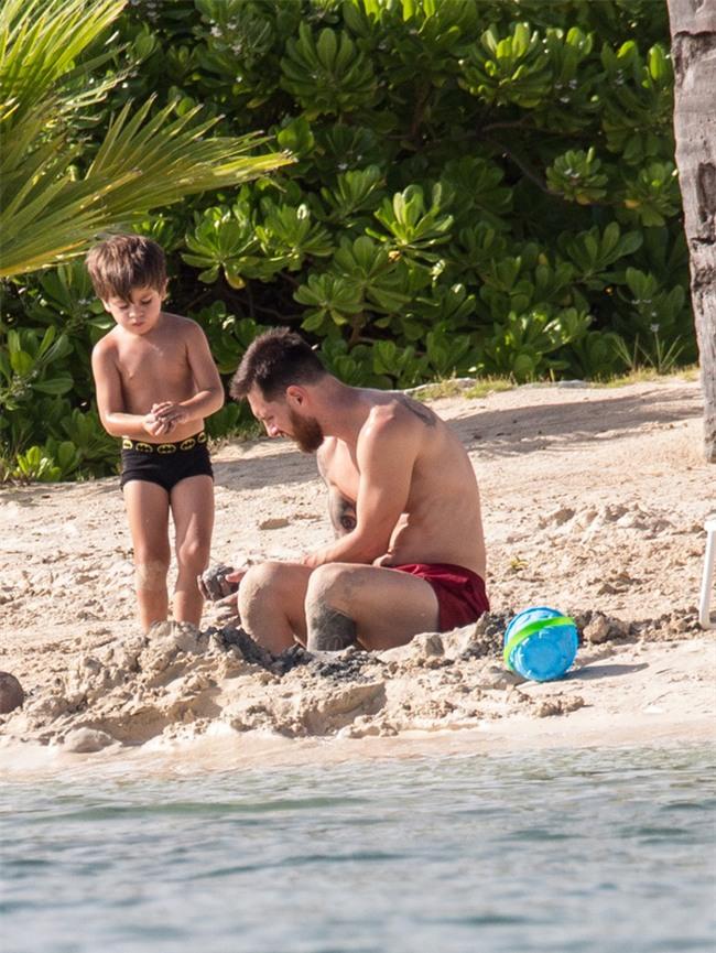Tuần trăng mật ngọt ngào của Messi và Antonella - Ảnh 6.