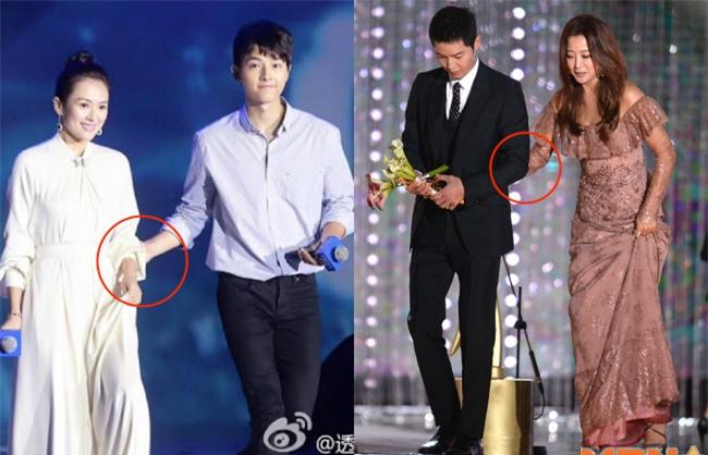 Cả thế giới ra đây mà xem, hoá ra Song Joong Ki vẫn luôn phân biệt đối xử Song Hye Kyo với các diễn viên nữ khác - Ảnh 1.
